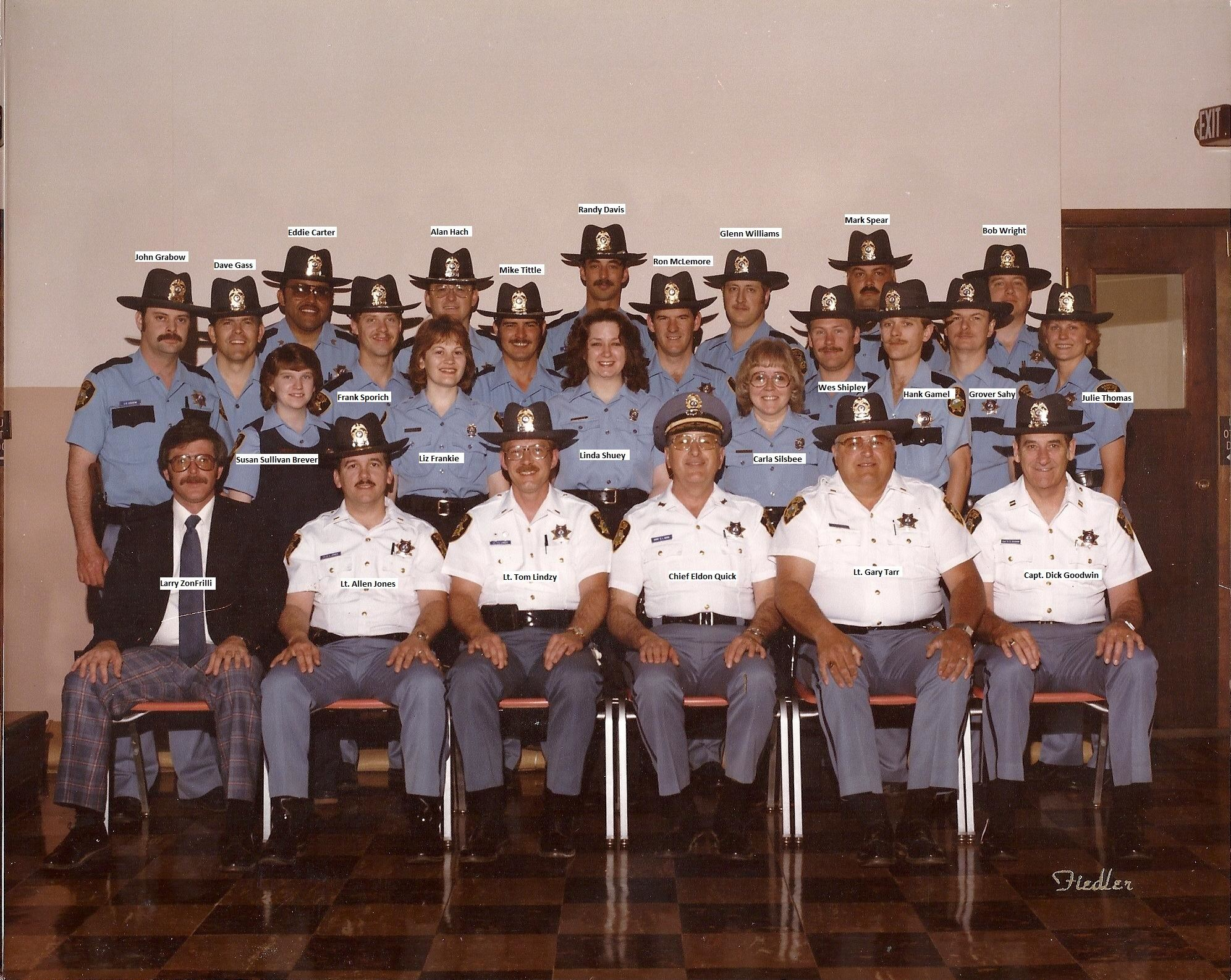 1980 Dept Photo Names Added